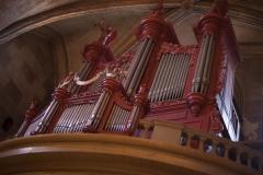 Eglise Saint-Pierre - English:   Église Saint-Pierre. Gaillac. Occitanie, Tarn. France. Church (Église Saint-Pierre). Interior. The organ. Ref: PM_117785_F_Gaillac. Photo: Paul M.R. Maeyaert. pmrmaeyaert@gmail.com. www.polmayer.com. © Paul M.R. Maeyaert; pmrmaeyaert@gmail.com
