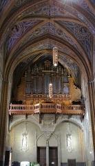 Eglise Saint-Alain - Lavaur - Cathédrale Saint-Alain - Orgue de Tribune