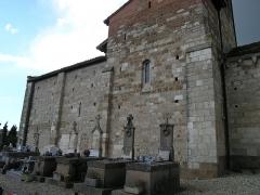 Eglise Saint-Michel - Deutsch: Kirche Saint-Michel in Lescure-d'Albigeois, Blick von Süden
