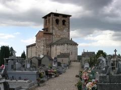Eglise Saint-Michel - Deutsch: Kirche Saint-Michel in Lescure-d'Albigeois, Blick von Süd-Ost