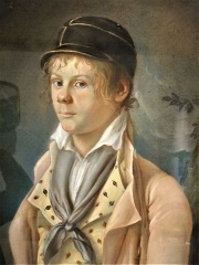 Ancienne église Saint-Martin - Français:   Abbaye-école de Sorèze - Portrait d\'un adolescent portant une casquette de l\'école de Sorèze