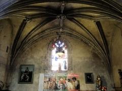 Eglise Saint-Jean-Baptiste - Français:   Caylus - Église Saint-Jean-Baptiste - Voûte de la chapelle latérale inférieure