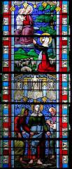 Eglise Saint-Jean-Baptiste - Français:   Caylus - Eglise Saint-Jean-Baptiste - Chapelle latérale - Vitrail