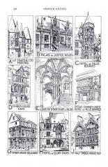 Hôtel des Echevins (ancien Hôtel de ville) - English: details of French Gothic Architecture (Fletcher), pg 558