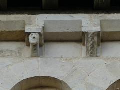 Eglise Saint-Martin - Français:   modillons église Chalivoy