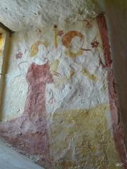 Eglise Saint-Martin - Français:   Fresque de la nef: personnages contemporains