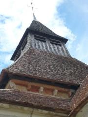 Eglise Saint-Julien - Français:   clocher de l\'église d\'Osmery avec son coq