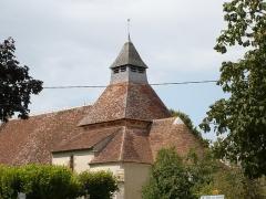 Eglise Saint-Julien - Français:   clocher de l\'église Saint Julien à Osmery