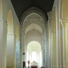 Abbaye Saint-Martin de Plaimpied - Français:   Église Saint-Martin de Plaimpied