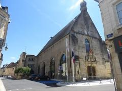 Ancienne église des Carmes - English: Saint-Amand-Montrond Église de Carmes Hôtel de la Villes