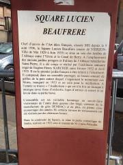 Jardin de l'Abbaye, dit aussi square Lucien Beaufrère - Français:   Vierzon Art déco Jardin abbaye présentation