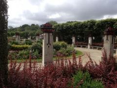 Jardin de l'Abbaye, dit aussi square Lucien Beaufrère - Français:   Vierzon Art déco Jardin abbaye vue générale du jardin