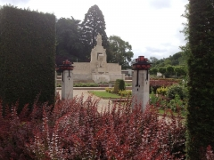 Jardin de l'Abbaye, dit aussi square Lucien Beaufrère - Français:   Vierzon Art déco Jardin abbaye vue générale 1