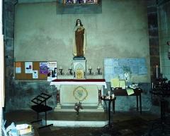 Eglise Notre-Dame - Bonneval (Eure-et-Loir , France) , l'église: une chapelle.