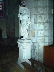 Eglise Notre-Dame - Bonneval (Eure-et-Loir, France), l'église: Jeanne d'Arc (?).