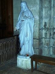 Eglise Notre-Dame - Bonneval (Eure-et-Loir, France), l'église: le Sacré-cœur de Jésus.