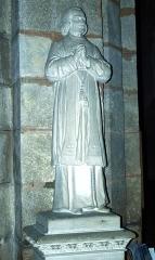 Eglise Notre-Dame - Bonneval (Eure-et-Loir, France), l'église: statue de?.