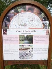 Tunnel - Canal Louis XIV à Dallonville, Bailleau-l'évêque, Eure-et-Loir (France).