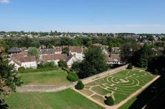 Ancien évêché et ses jardins, actuellement Musée des Beaux-Arts -  Chartres