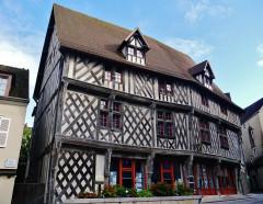 Maison du Saumon - Deutsch: Lachshaus, Chartres, Département Eure-et-Loire, Region Zentrum-Loiretal, Frankreich
