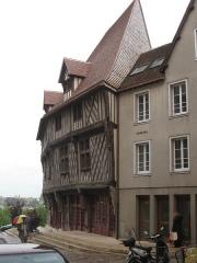 Maison du Saumon - English: House of the salmon (Chartres)