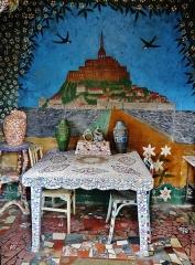 Maison Picassiette, actuellement musée Picassiette - Deutsch: im Picassiette-Haus, Chartres, Département Eure-et-Loire, Region Zentrum-Loiretal, Frankreich