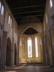 Eglise de la Madeleine - Deutsch: Châteaudun, Kirche Sainte-Madeleine innen