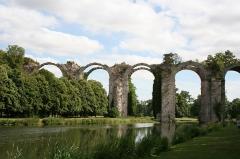 Ancien aqueduc de Pontgouin à Versailles (également sur communes de Berchères-Saint-Germain et Pontgouin) -  IMG_8738
