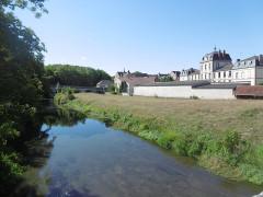 Ancien aqueduc de Pontgouin à Versailles (également sur communes de Berchères-Saint-Germain et Pontgouin) - Français:   Maintenon canal Louis XIV