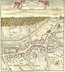 Ancien aqueduc de Pontgouin à Versailles (également sur communes de Maintenon et Berchères-Saint-Germain) - French drawer and engraver