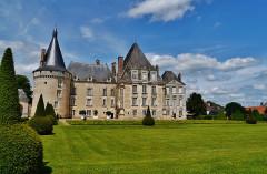 Château d'Azay-le-Ferron - Deutsch: Schloss Azay-le-Ferron, Azay-le-Ferron, Département Indre, Region Zentrum-Loiretal, Frankreich