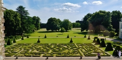 Château d'Azay-le-Ferron - Deutsch: Garten des Schlosses Azay-le-Ferron, Azay-le-Ferron, Département Indre, Region Zentrum-Loiretal, Frankreich
