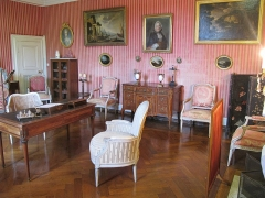 Château d'Azay-le-Ferron - Français:   Chambre - Chateau Azay le Ferron
