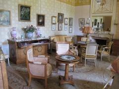 Château d'Azay-le-Ferron - Français:   Chambre de Mme Hersent - Chateau Azay le Ferron