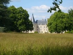 Château d'Azay-le-Ferron - English: Chateau d'Azay-le-Ferron viewed from the park