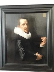 Ancien hôtel du Maréchal Bertrand - Français:   Portrait d\'un homme de trente-deux ans.  Huile sur bois. Werner van den Valckert (1585-1627/28). Musée Bertrand, à Châteauroux, dans l\'Indre, en France.  Inv.291.