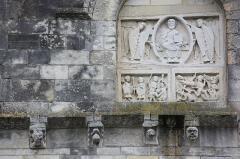 Eglise Notre-Dame - Châtillon-sur-Indre - Eglise Notre-Dame, détail transept Sud