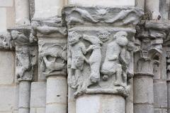 Eglise Notre-Dame - Châtillon-sur-Indre - Eglise Notre-Dame