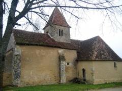 Eglise Saint-Martin de Vicq -  Indre Nohant Eglise 08042010