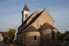 Eglise Saint-Martin de Vicq - English:   Église Saint Martin de Vic; Nohant_Vic, Indre, Centre-Val de Loire, France;; ref: PM_092741_F_Nohant_Vic;; Photographer: Paul M.R. Maeyaert; www.pmrmaeyaert.eu; © Paul M.R. Maeyaert; pmrmaeyaert@gmail.com; Cultural heritage; Europeana; Europe/France/Nohant-Vic;