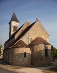 Eglise Saint-Martin de Vicq - English:   Église Saint Martin de Vic; Nohant_Vic, Indre, Centre-Val de Loire, France;; ref: PM_092742_F_Nohant_Vic;; Photographer: Paul M.R. Maeyaert; www.pmrmaeyaert.eu; © Paul M.R. Maeyaert; pmrmaeyaert@gmail.com; Cultural heritage; Europeana; Europe/France/Nohant-Vic;