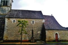 Eglise Saint-Martin de Vicq - Deutsch:   Kirche St. Martin, Nohant-Vic, Département Indre, Region Zentrum-Loiretal, Frankreich