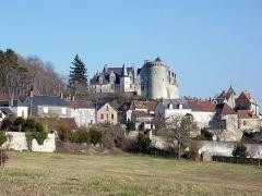 Château - Français:   Le château de Palluau sur Indre