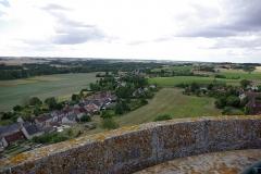 Château - Français:   Palluau-sur-Indre depuis la tour Phillippe Auguste.
