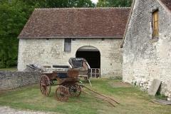 Château - Français:   Exposition de véhicules hippomobiles anciens dans le parc du château de Palluau-Frontenac.