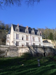 Château Gaillard - Français:   Tour et façade
