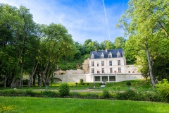 Château Gaillard - Français:   Portrait Château Gaillard (Amboise)