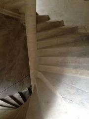 Château Gaillard - Français:   Escaliers à vis