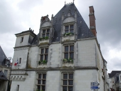Hôtel de ville - Deutsch: Das Hôtel Morin in Amboise