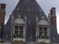 Hôtel de ville - Deutsch: Lukarnen des Hôtels Morin in Amboise